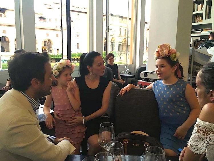 Miss Pois è il brand di moda per bambine di Laura Panichi, presentato a Pitti Bimbo 83
