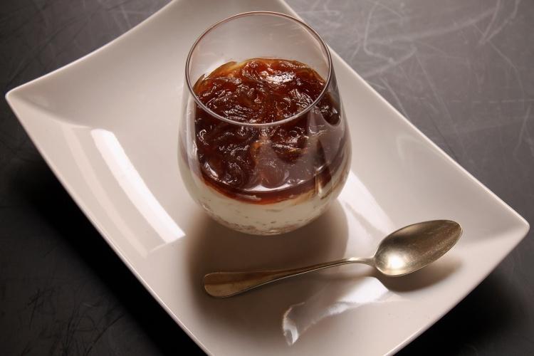 Chesecake salta con confettura di cipolle di Certaldo 3