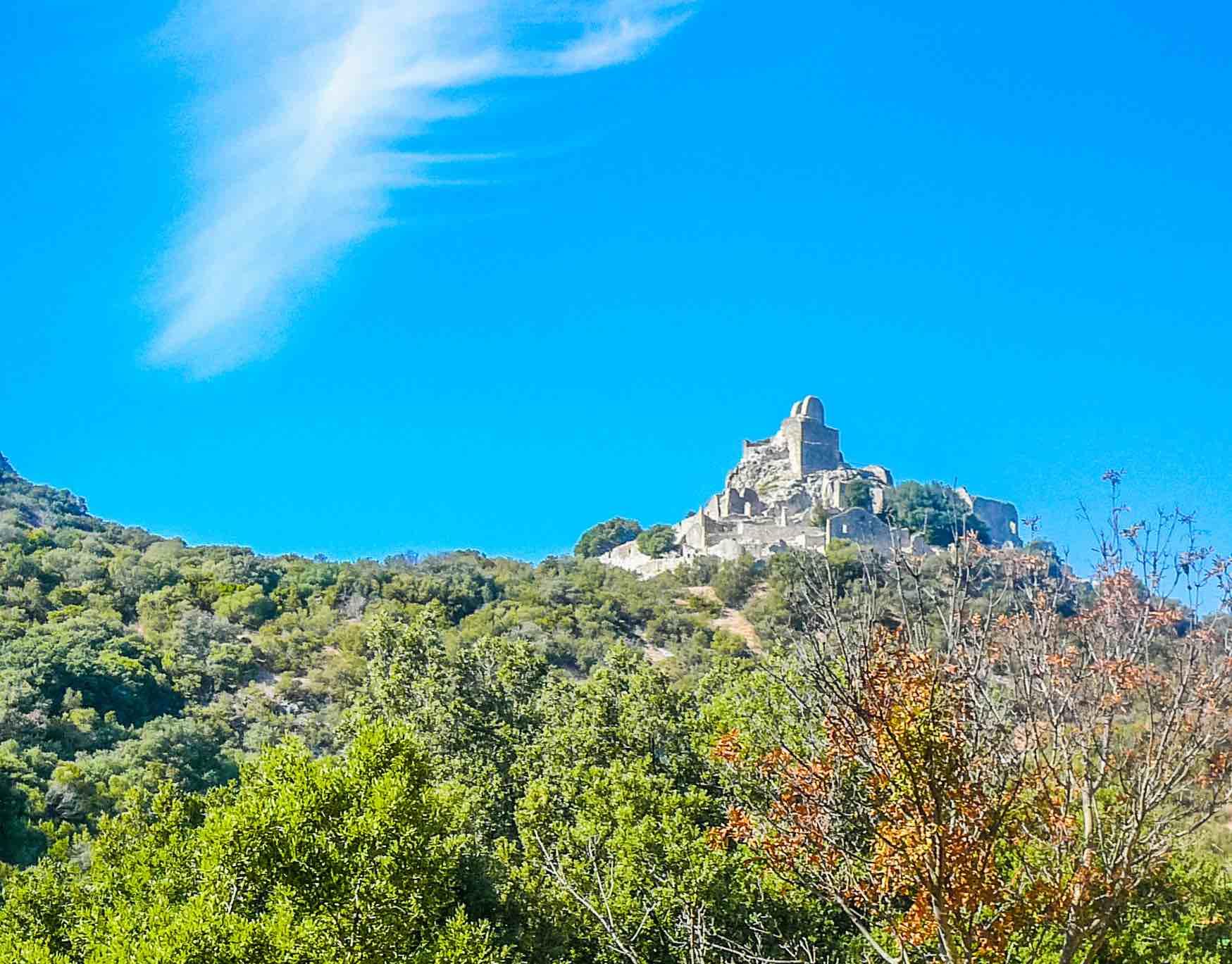 Rocca di San Silvestro vicino a Campiglia Marittima nel Parco Archeominerario