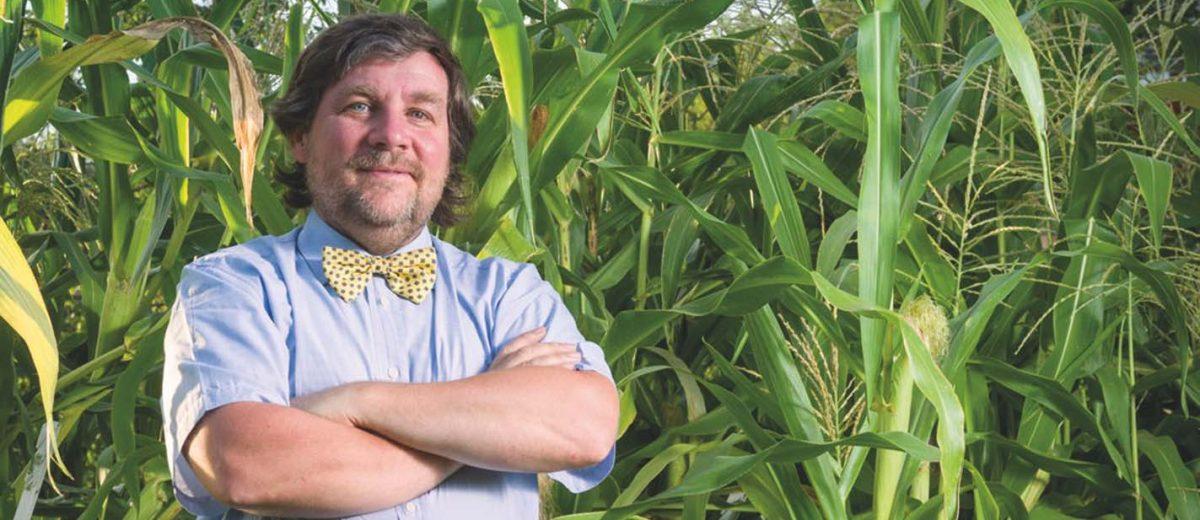 """Intervista a Luca Mercalli, il famoso climatologo di """"Che tempo che fa"""" alla presentazione del suo nuovo libro """"Il mio orto tra cielo e terra""""."""