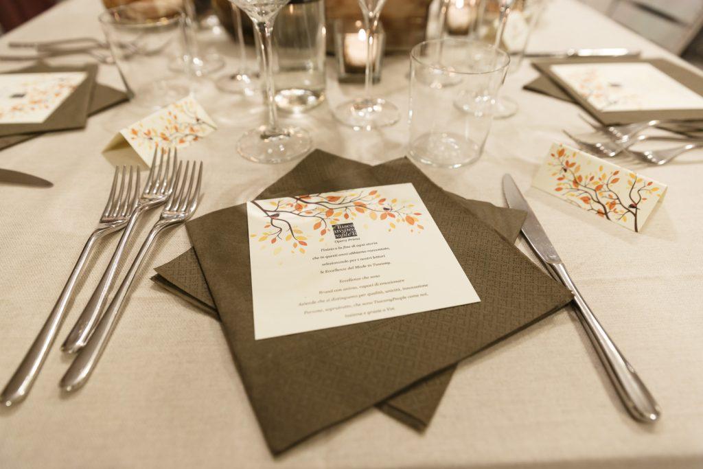 Opera Prima è il primo dei Supper Club TuscanyPeople, cene segrete in location d'eccezione con i migliori prodotti targata made in Tuscany
