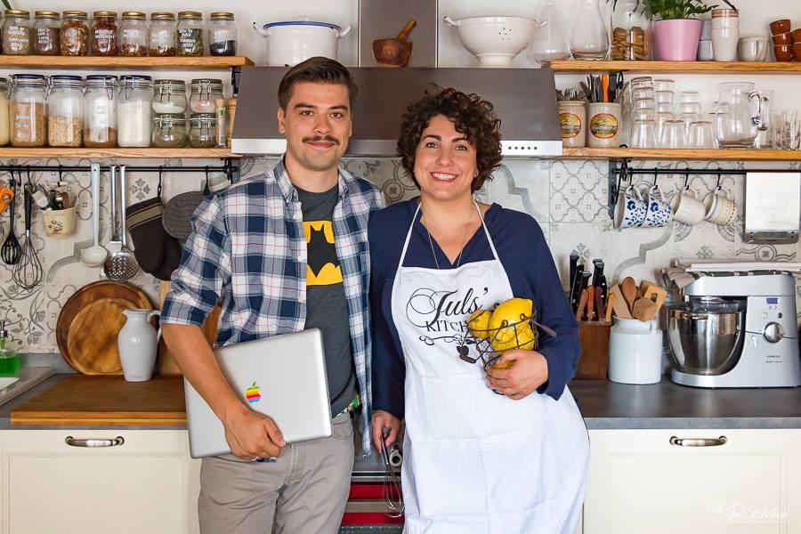 giulia scarpaleggia, incontro con la mamma di jul's kitchen - In Cucina Con Amore