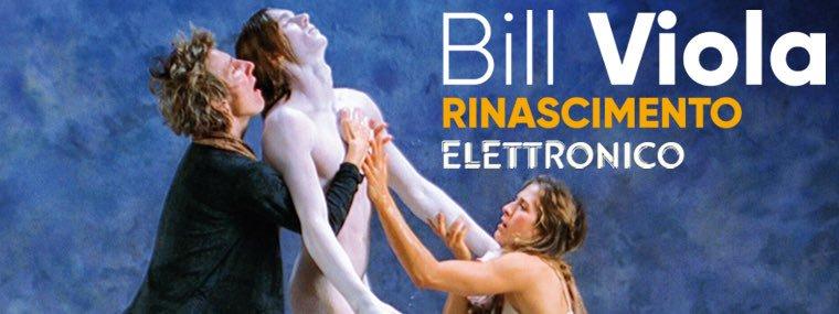 Dal 10 marzo al 23 luglio 2017 a Firenze in Palazzo Strozzi, si terrà la mostra Rinascimento elettronico del maestro di VideoArte Bill Viola.