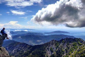 Il Monte Capanne è la vetta più alta dell'Isola d'Elba e dall'alto dei suoi 1019 offre una vista unica e mozzafiato sull'Arcipelago Toscano
