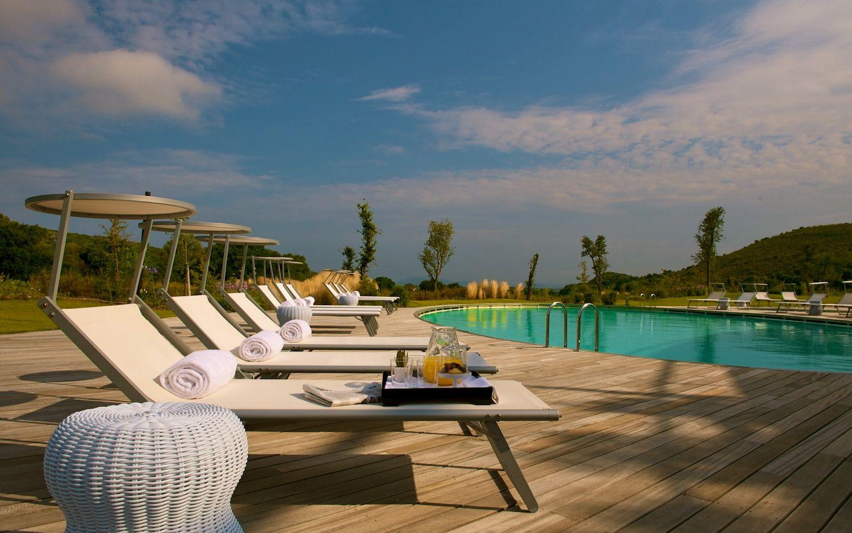 Argentario Golf Resort & SPA è un sogno made in Tuscany ad occhi aperti:2700 mq di zona wellness,campi da golf,suite nel cuore della Maremma