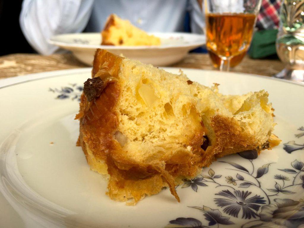 Pranzo al Gilda Bistrot, il bistrot fiorentino del Marcato di Sant'Ambrogio, per gustare in anteprima il Panettone Pregiata Forneria Lenti
