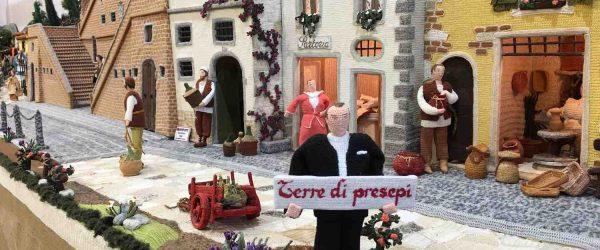 La Via dei Presepi di Cerreto Guidi è una mostra-concorso che vede protagonista un intero borgo toscano nella realizzazione di presepi artigianali.