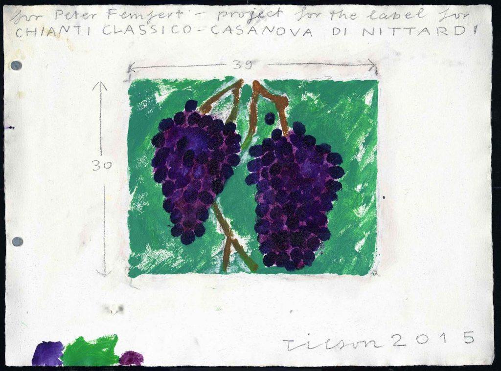 Nittardi a villa cora un incontro di vino e arte for Piani di fattoria contemporanea