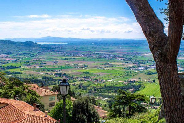 La Val di Chiana è un'area della Toscana divisa tra le province di Siena e Arezzo che offre borghi medievali, tradizioni culinarie e natura