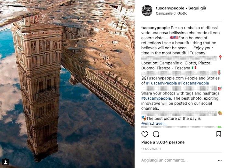 TuscanyPeople on Instagram ha 50.000 followers e oltre 130.000 foto pubblicate con hashtag #tuscanypeople: l'essenza della Toscana in un solo profilo, Real Tuscan Being.