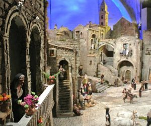 Il Presepe Monumentale dei Sassi di Matera del maestro Franco Francesco Artese sarà esposto nella Chiesa di Santo Spirito fino al 4 febbraio