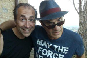 """Alberto Lagomarsini è un musicista e cantautore toscano diventato famoso per la sua canzone """"Bobo gol"""""""