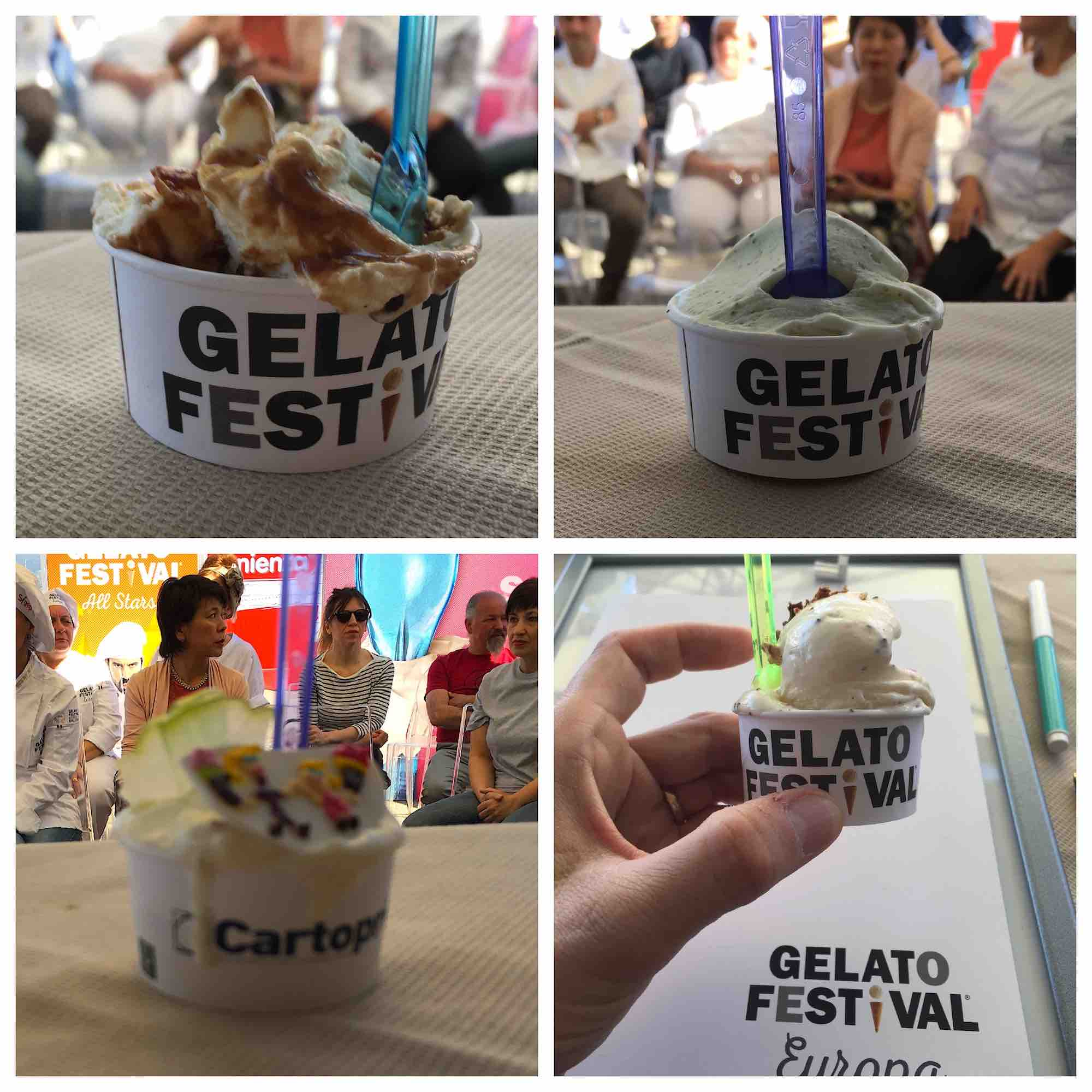 Nella giuria di esperti del Gelato Festival 2018 che decreterà il campione mondiale di gelateria, quest'anno è arrivata anche TuscanyPeople