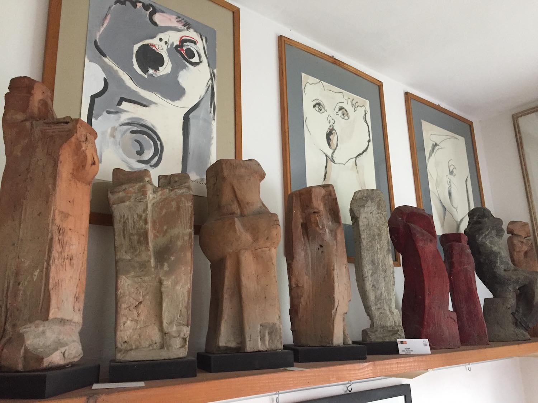 Intervista al figlio del grande scultore toscano Ugo Guidi nella cui Casa Museo a Forte dei Marmi si tiene la mostra Nel segno di Michelangelo