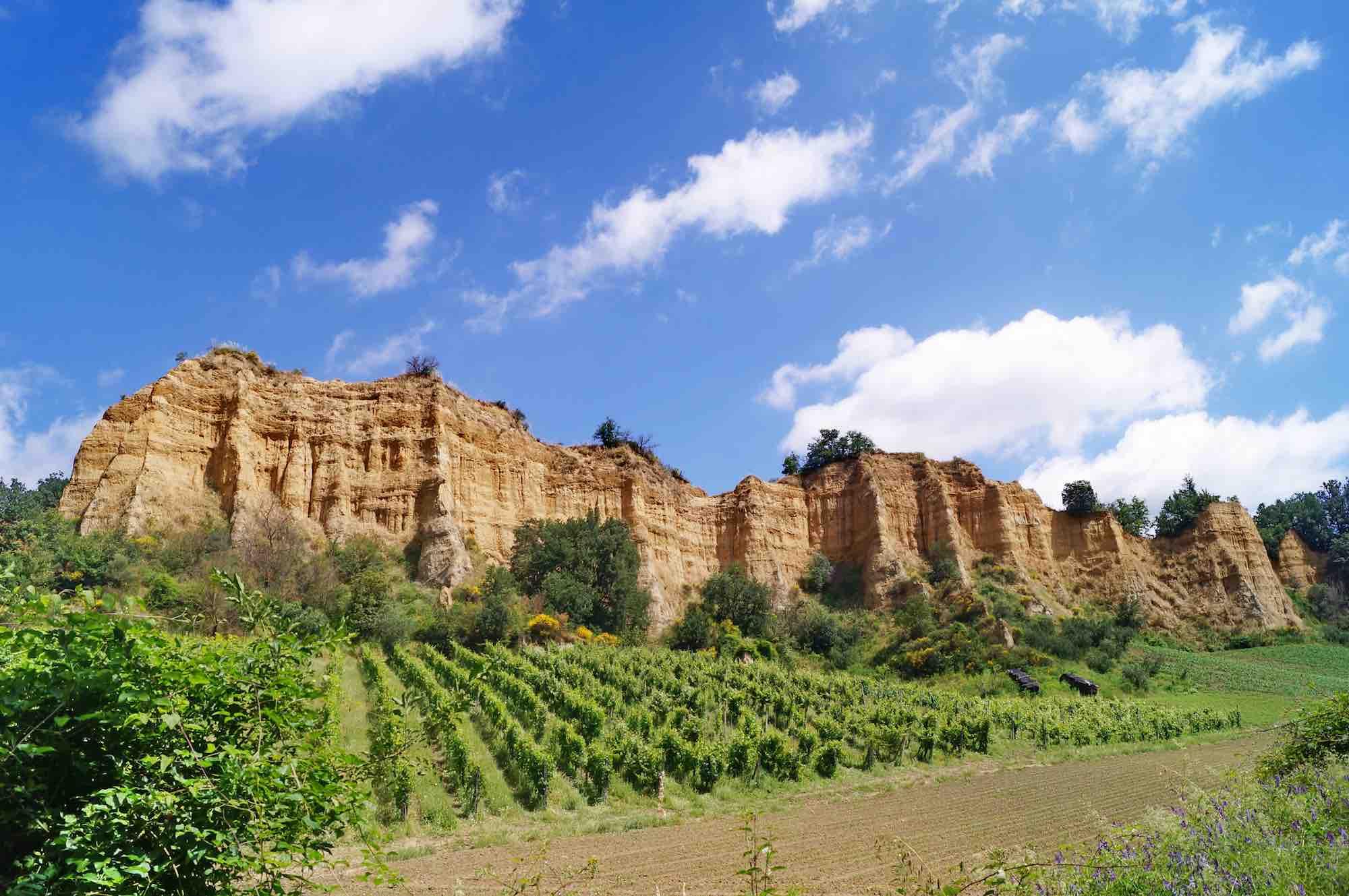 Castelfranco Piandiscò è uno dei 23 borghi più belli d'Italia della Toscana, immerso nel magico paesaggio delle Balze del Valdarno Superiore