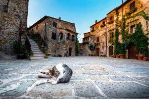 Montemerano è uno dei 23 Borghi più Belli d'Italia della Toscana. Questo borgo medievale si trova in Maremma, tra Saturnia e Manciano.