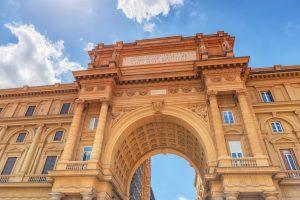 Il piano urbanistico di Giuseppe Poggi del 1865 per Firenze capitale d'Italia modificò completamente l'aspetto e la struttura della città