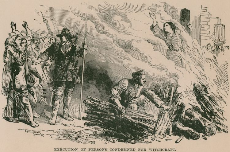 La caccia alle streghe in Toscana come in Europa non si svolse nel Medioevo, ma iniziò nel 1500, gettando un'ombra sinistra sul Rinascimento