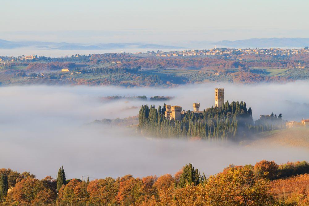 L'Abbazia di Passignano si trova vicino a Firenze a Tavarnelle Val di Pesa