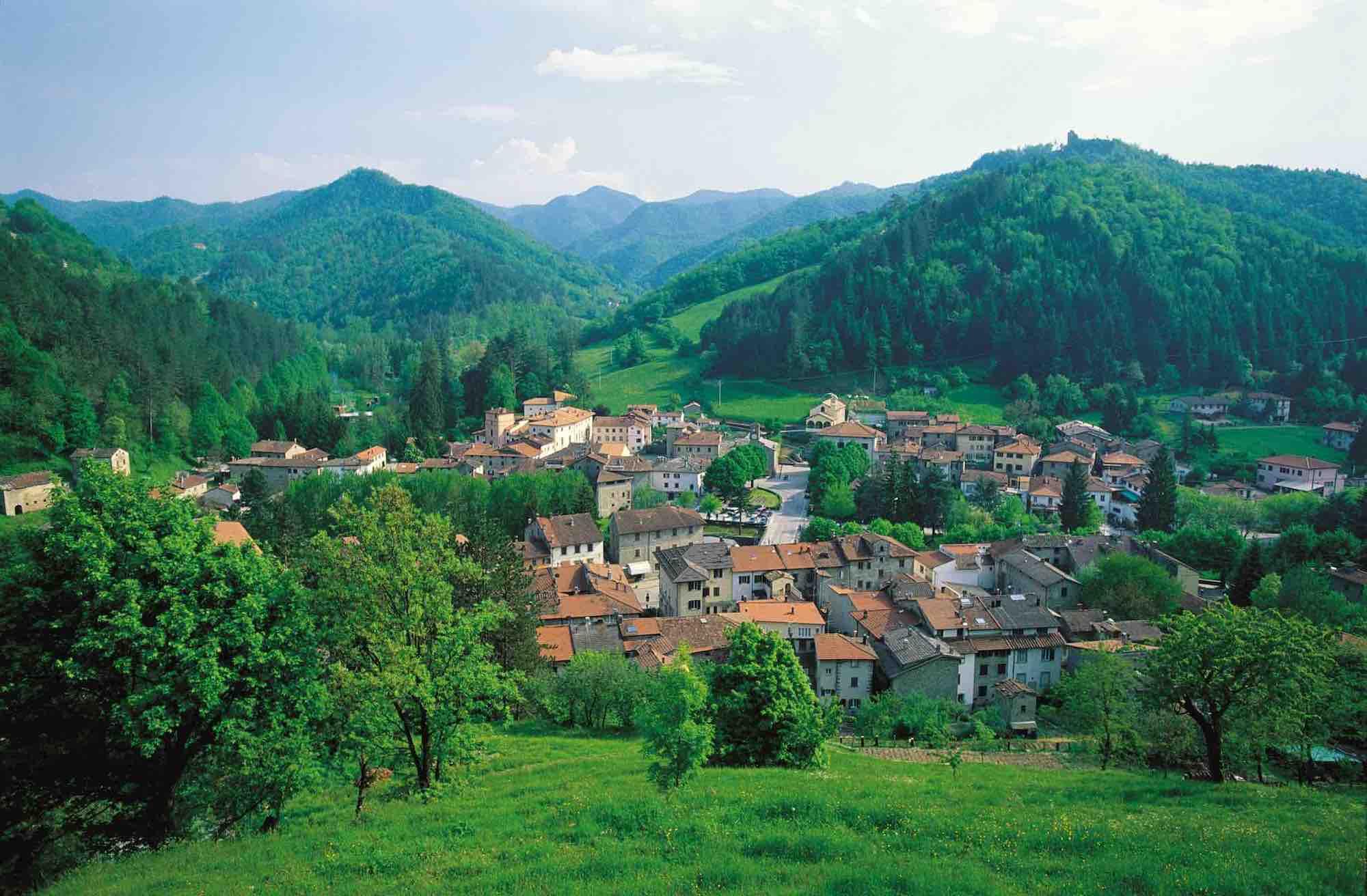 Palazzuolo sul Seno in Alto Mugello è uno dei migliori luoghi per andare in mountain bike in Toscana.