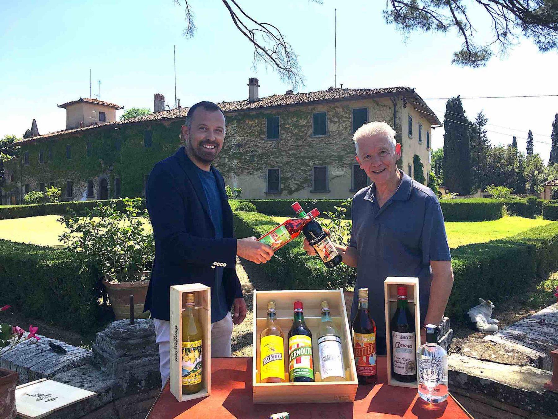 Tra le migliori aziende in Toscana troviamo i Liquori Gambacciani di Empoli.