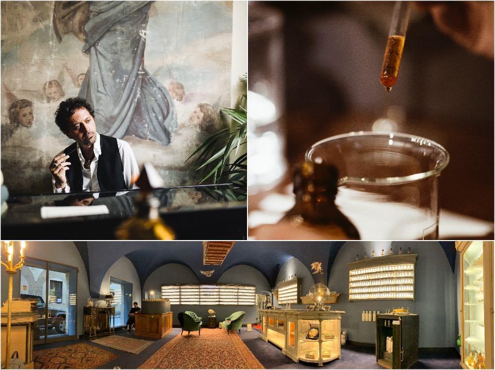 Sileno Cheloni, maestro profumiere toscano di fama internazionale, organizza nel suo atelier di Firenze, corsi per creare il proprio profumo