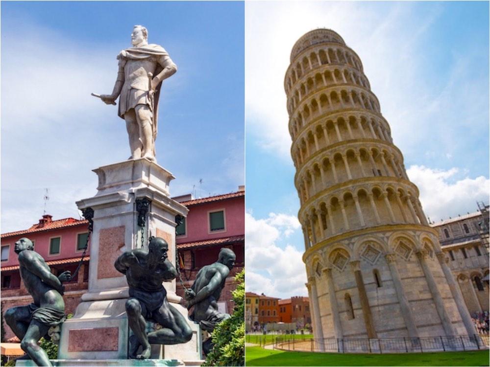 Perché livornesi e pisani si odiano? Storia dell'antagonismo tra Pisa e Livorno che Freud definirebbe: il narcisismo delle piccole differenze