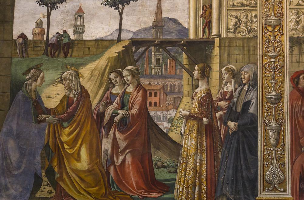 Affresco nella Basilica di Santa Maria Novella
