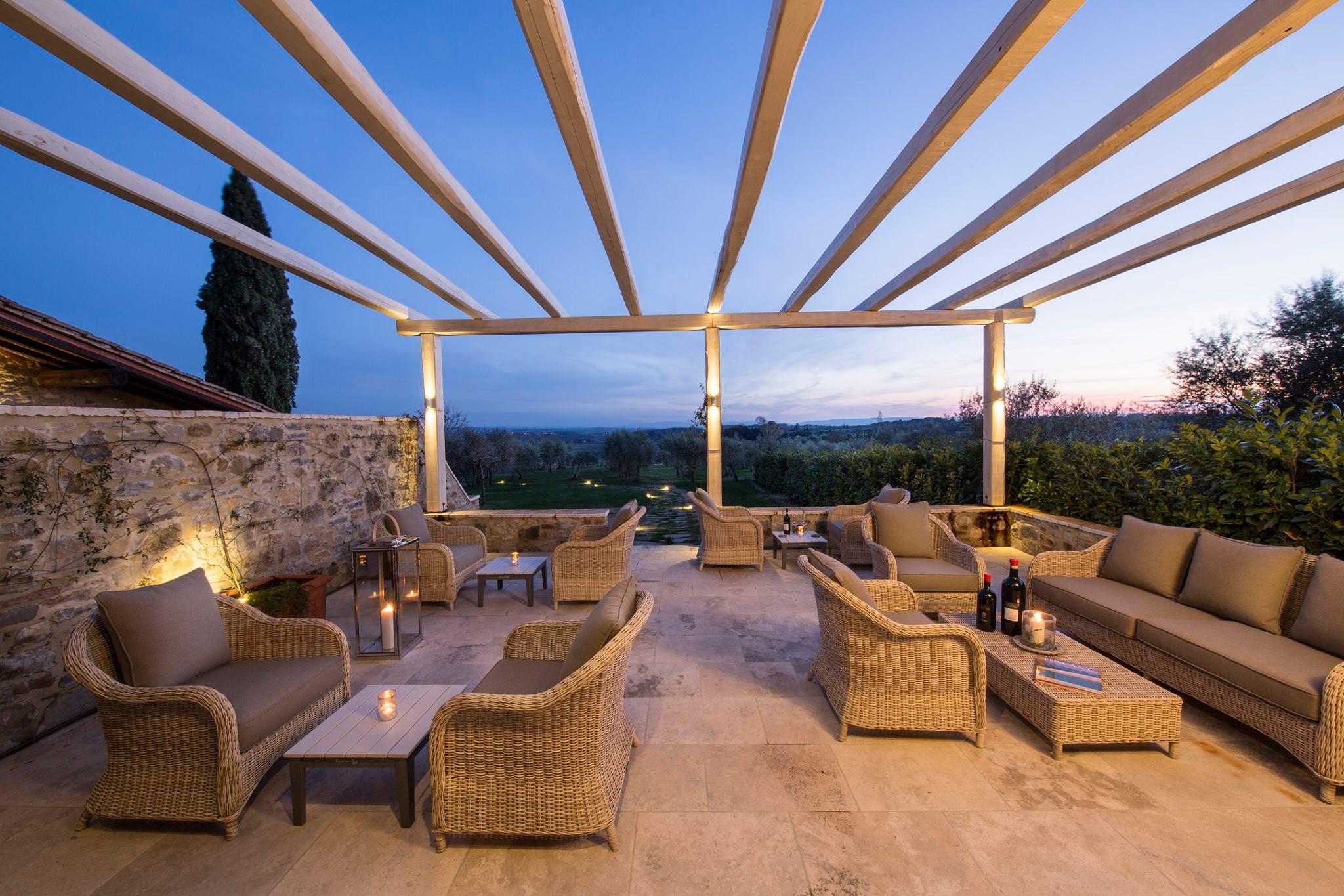 Il Borgo Argiano è tra i migliori wine resort in Toscana