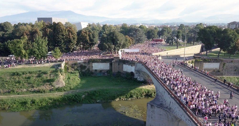 Record di partecipazione per Corri la Vita XVII, l'evento dedicato alla prevenzione e cura del tumore al seno, creato da Bona Frescobaldi