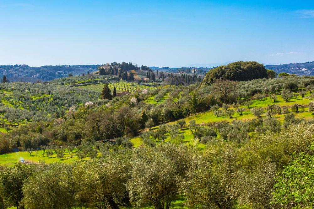 La Val di Pesa in Toscana è la valle del fiume-torrente Pesa
