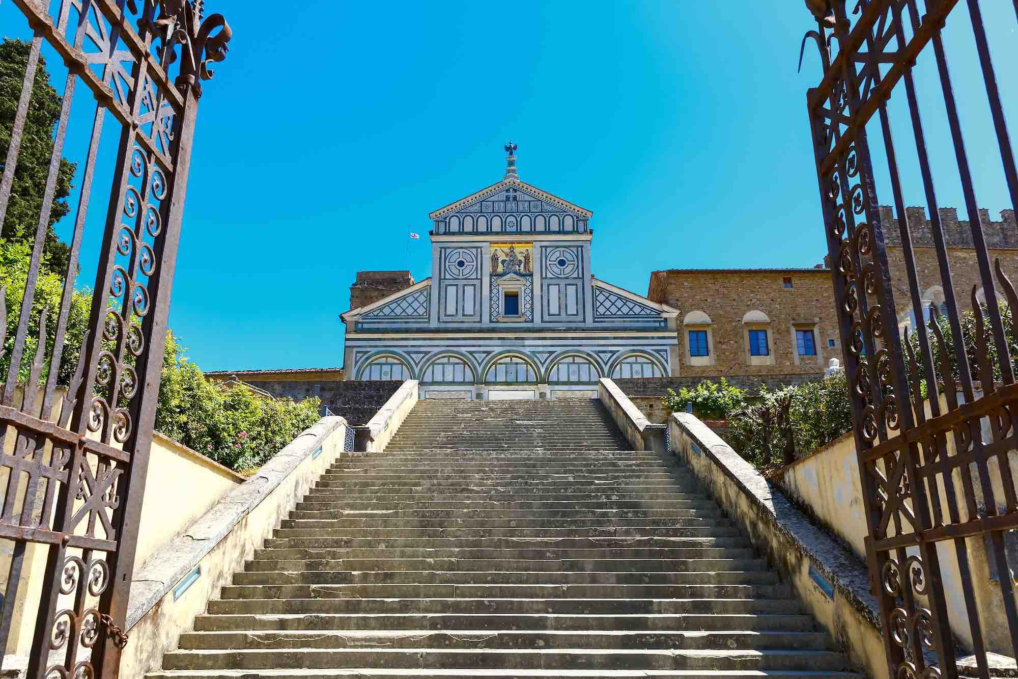 San Miniato al Monte fa parte degli itinerari della Firenze alchemica.