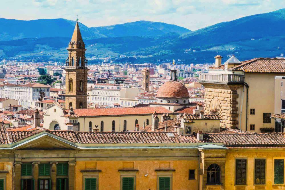 Santo Spirito è uno dei 4 quartieri storici di Firenze, è detto anche Oltrarno Fiorentino.