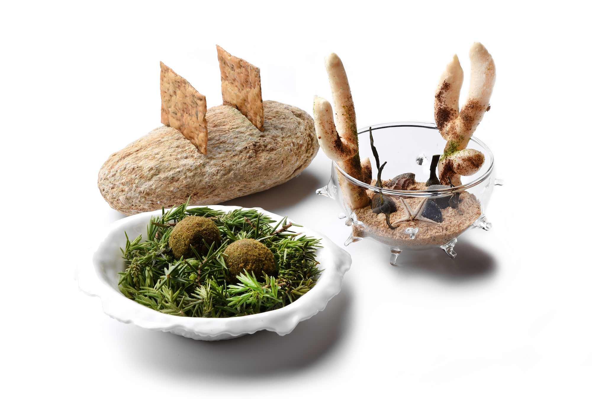 Aperitivo, piatto dell'Executive Chef Andrea Mattei dei ristoranti della Famiglia Vaiani