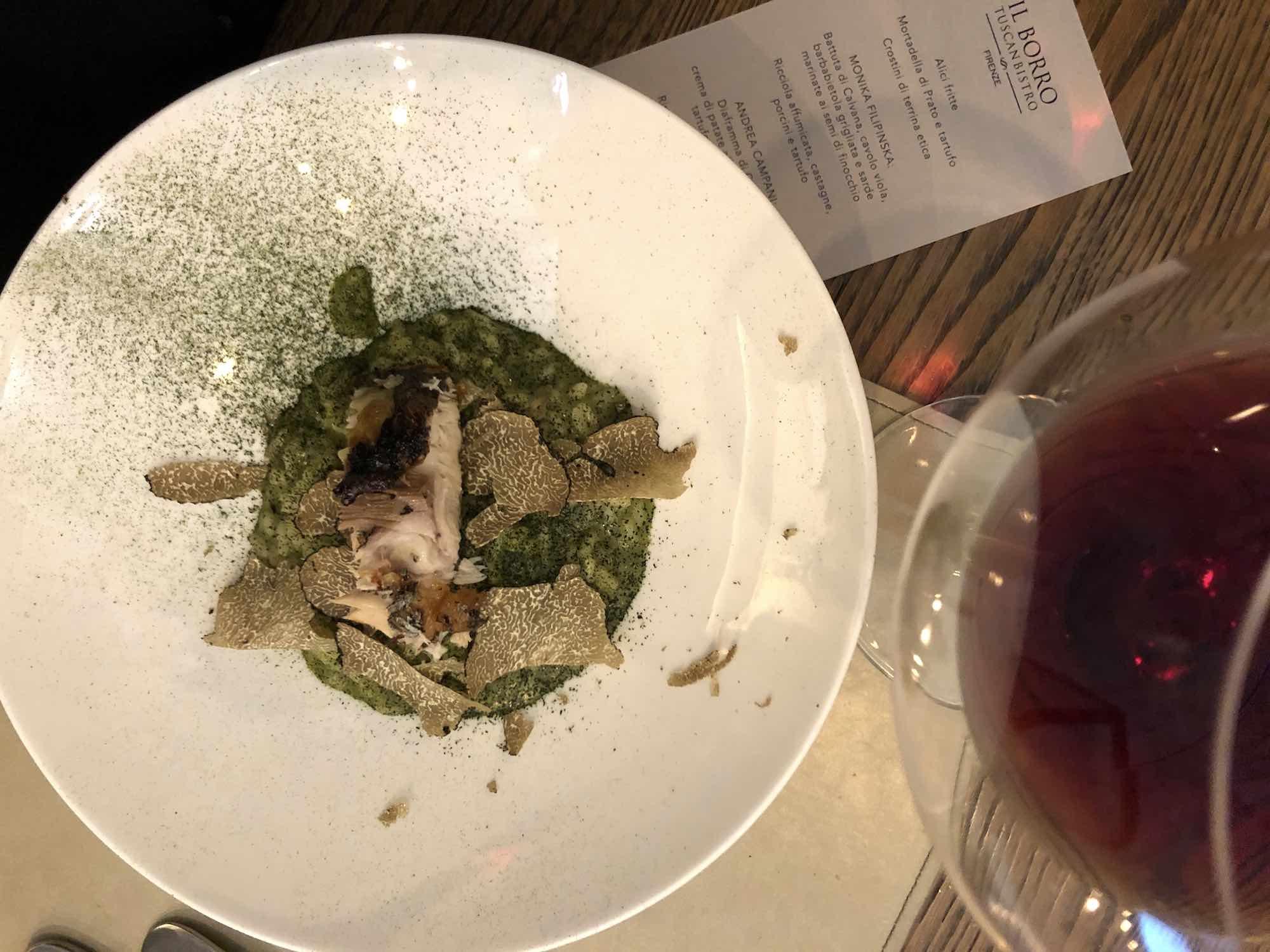 Cuochi Incrociati è uno degli eventi speciali che si tengono il giovedì al Borro Tuscan Bistro di Firenze, ristorante di Ferruccio Ferragamo.