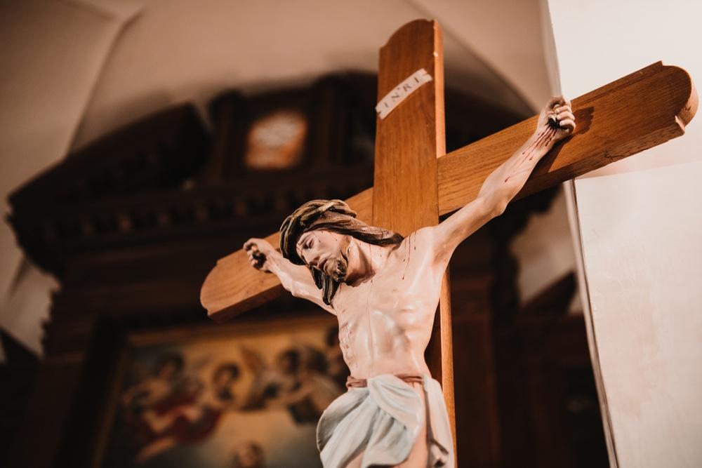 Il simbolo della croce è l'icona del cristianesimo