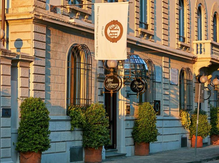 Hotel Regency a Firenze, al cui interno si trova il ristorante Relais Le Jardin, capitanato dallo Chef Sandro Baldini.
