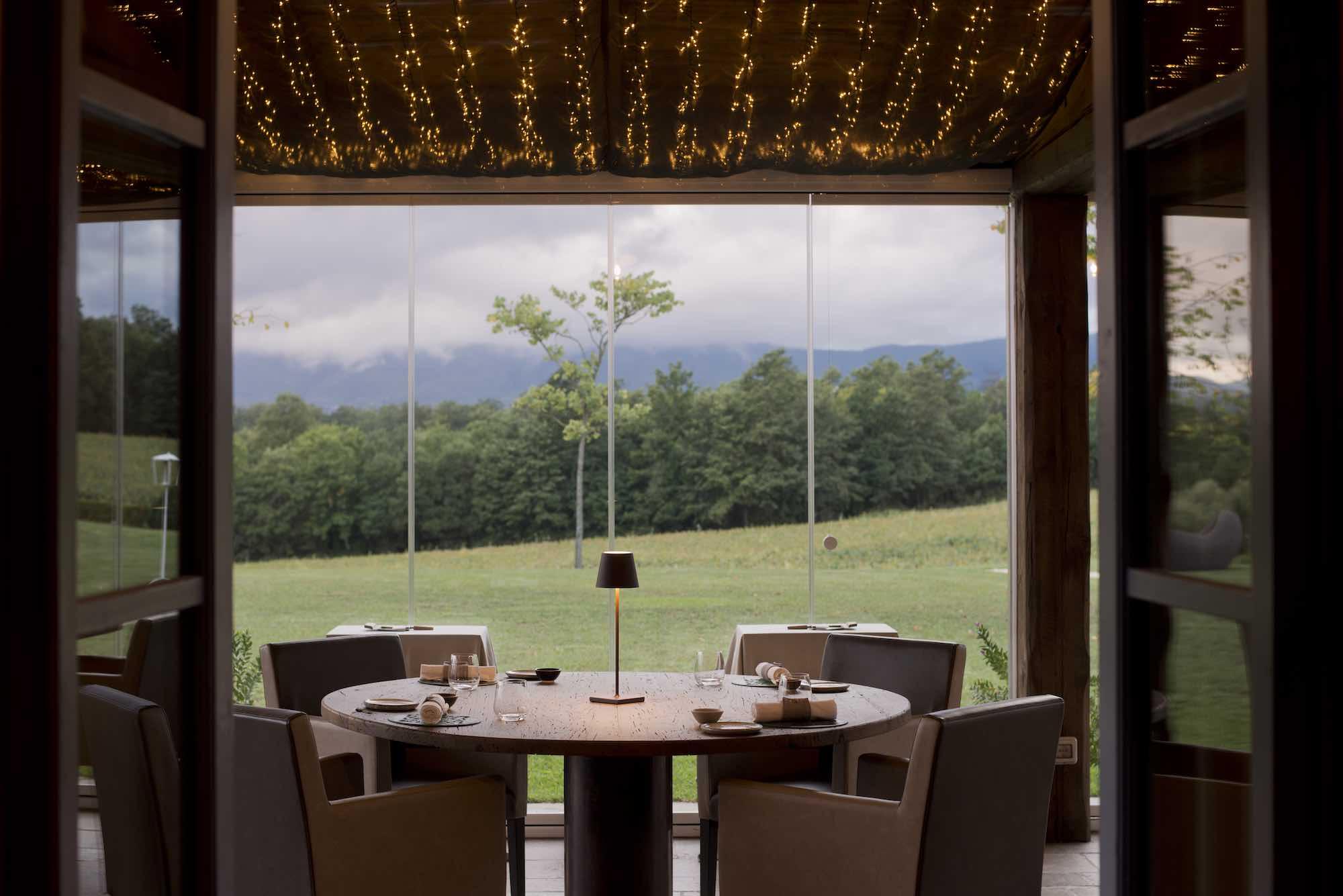 Tenuta Le Tre Virtù in Mugello, sede del ristorante Virtuoso, 1 Stella Michelin