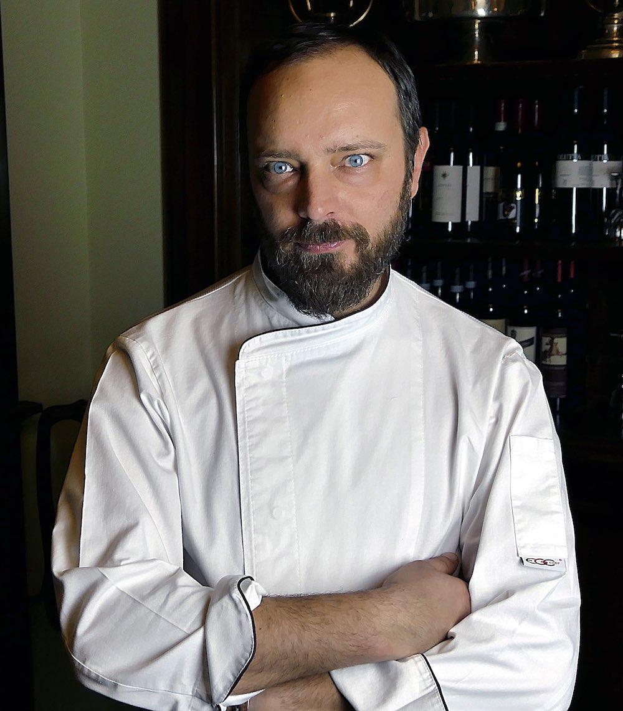 Lo Chef Sandro Baldini dell'Hotel Regency di Firenze