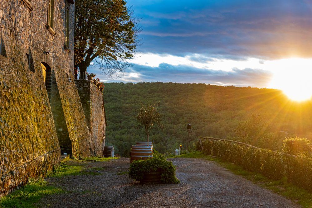 Il Castello di Meleto è uno dei più importanti Castelli della zona del Chianti Classico