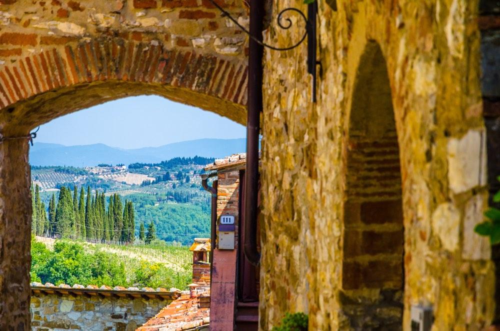 Il Chianti è una dei territori più conosciuti della Toscana