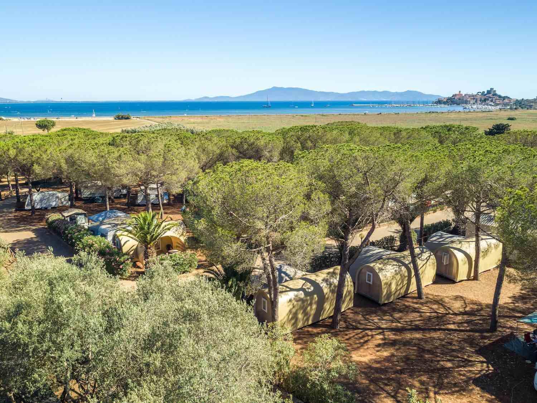 Il glamping Talamone è un'ottima meta per una vacanza in Toscana green e sostenibile