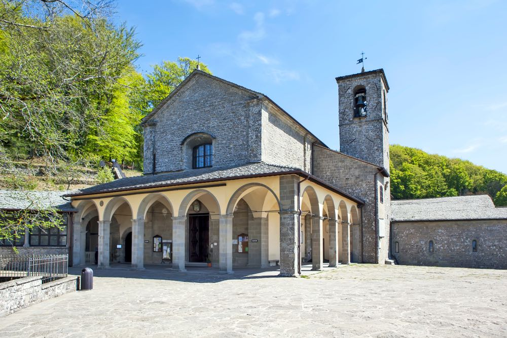 La Basilica Maggiore del Santuario Francescano della Verna