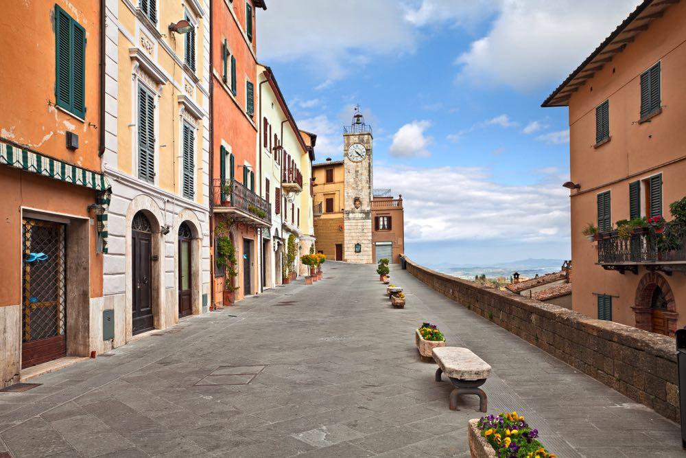 La Torre dell'Orologio a Chianciano Terme