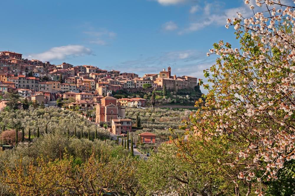 Chianciano Terme, tra la Val d'Orcia e la Val di Chiana, è una delle più importanti località termali in Toscana.