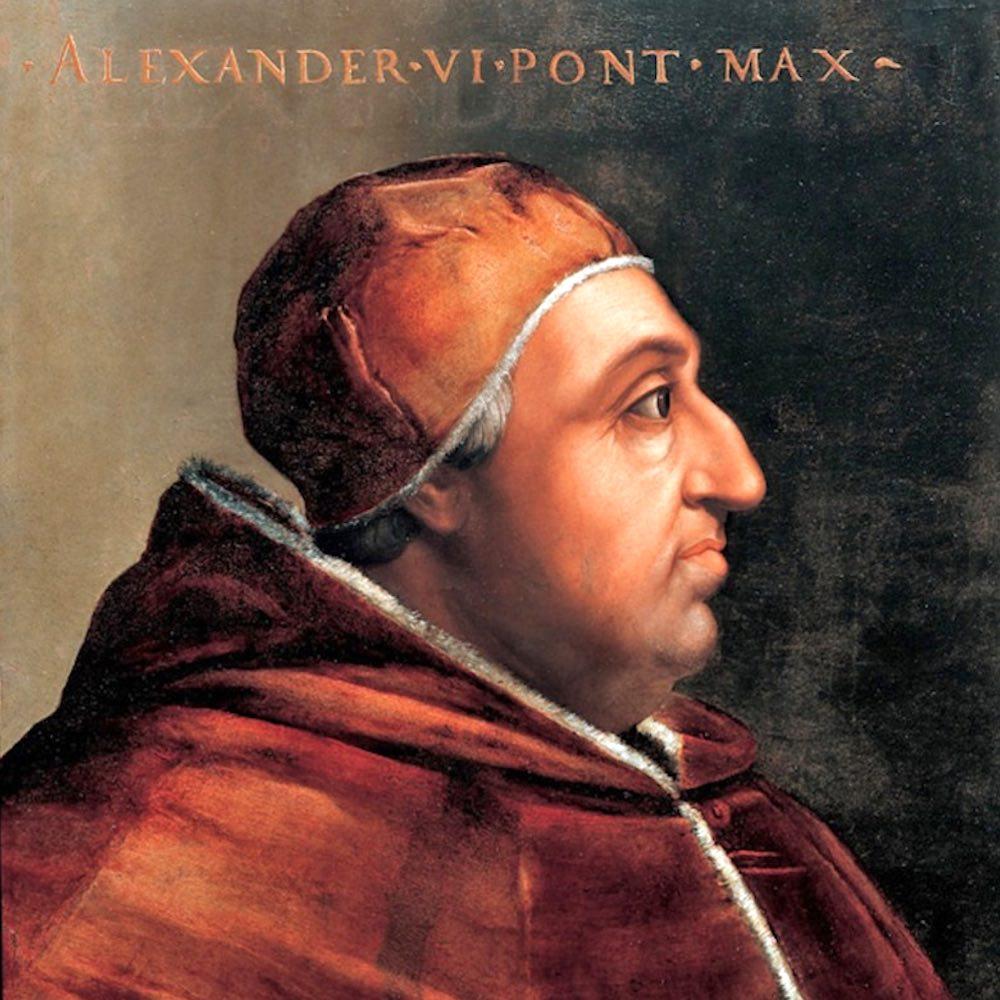 Papa Alessandro VI, al secolo Rodrigo Borgia, è colui che condannò a morte Girolamo Savonarola