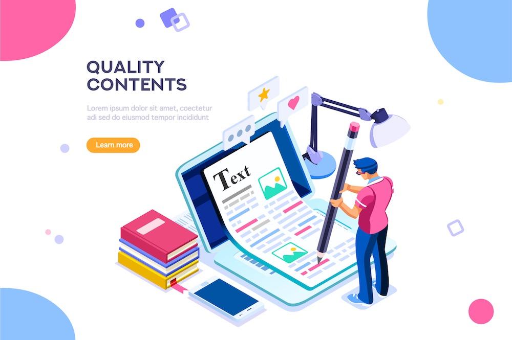 Il contenuto di un testo è fondamentale all'indicizzazione di una pagina web