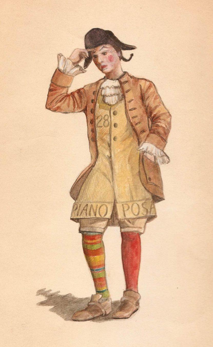 Stenterello è la maschera di Carnevale di Firenze