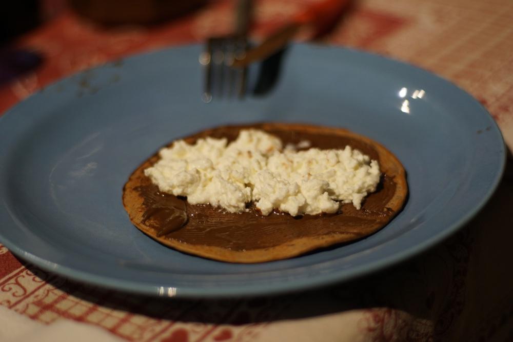 I necci o bollenti sono tra i dolci di Carnevale tipici della Garfagnana