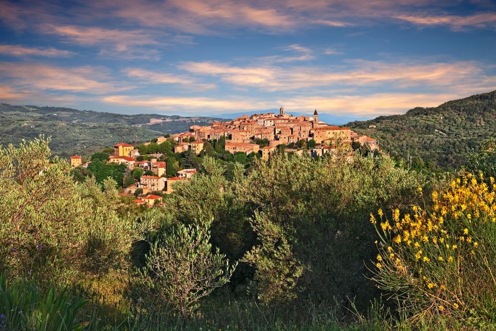 Seggiano è uno dei borghi toscani del Monte Amiata, provincia di Grosseto